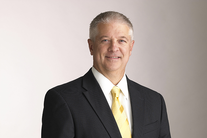 Joey McLane, President of First Midwest Bank